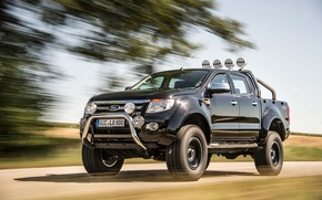 Picture tuning, Ford, pickup, the front, delta4x4, Kentros, Renzher, Ford Ranger