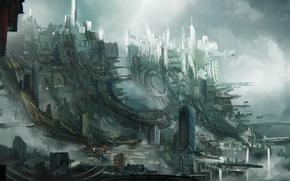 Picture the city, slums, Leon Tukker, Sky slums