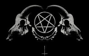 Picture sake, pentagramma, satana