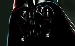 Wallpaper reflection, star wars, Darth Vader