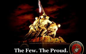 Picture marines, the few, the proud