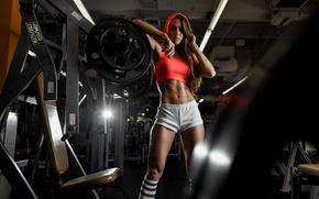 Picture look, hair, figure, class, hall, super, Valentina, trainer, the gym, presic