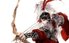 Picture fantasy, bow, art, arrows, Archer