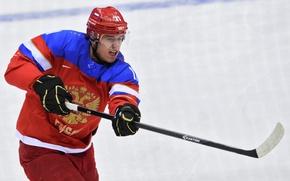 Wallpaper hockey, hockey player, throw, Evgeni Malkin, RUSSIA, The XXII Winter Olympic Games, Sochi 2014, SOCHI ...