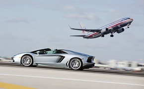 Picture Lamborghini, roadster, LP700-4, aventador