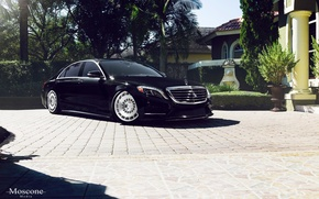 Picture black, mercedes-benz, w222