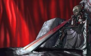 Wallpaper warrior, Fate/stay night, sword