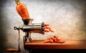 Wallpaper carrots, chopper, carrots