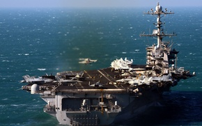 Picture weapons, the carrier, USS John C. Stennis