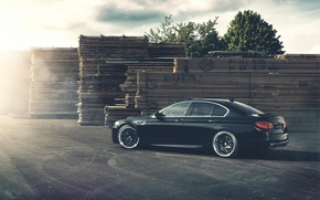 Picture BMW, BMW, Drives, Black, 5 series, f10, Tuning