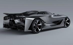 Picture Concept, Turismo, Nissan, Vision, Gran, 2014, Rear