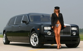 Picture Phantom, Airport, Rolse Royce, Driver