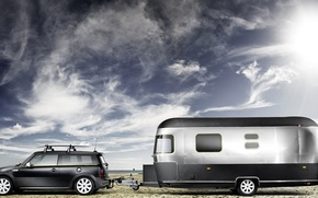 Picture stay, Mini, Cooper, vacation, tourism, the trailer, Clubman, Estate, motorhome