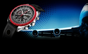 Picture Watch, the plane, Breitling, Chrono-Matic