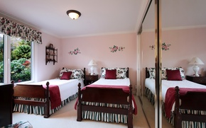 Picture design, photo, bed, interior, pillow, bedroom