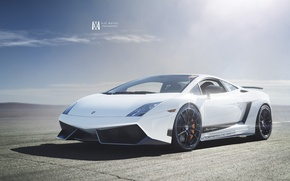 Picture Lamborghini, Superleggera, Gallardo, White, Turbo, LP570-4, Supercar, Twin, Alex Murtaza