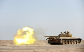 Picture weapons, tank, T-72