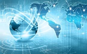 Picture Planet, Internet, Globe, Hi-Tech