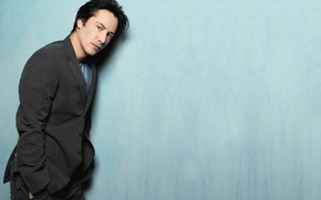Picture background, portrait, actor, Keanu Reeves