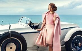 Picture sea, machine, photo, Natalie Portman