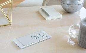 Picture Sony, Design, White, Xperia, Smartphone, 2016