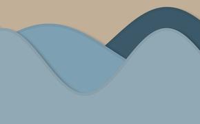 Picture line, background, blue, texture, beige