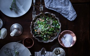 Picture food, salt, salad, pasta, spaghetti