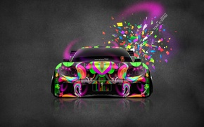 Picture Pink, Neon, Tuning, Bright, Mazda, Style, Wallpaper, Pink, Mazda, Photoshop, Photoshop, Style, JDM, RX7, 2014, …