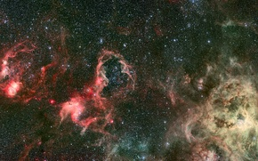 Picture stars, the universe, serenity, the unknown, worlds, infinity, clusters, eternity, galaxy, light years, dark matter
