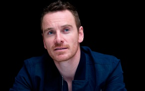 Picture Michael Fassbender, X-men:Days of future past, press conference of the film