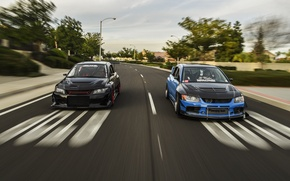 Picture turbo, black, mitsubishi, japan, jdm, tuning, lancer, evolution, evo, front, speed, face