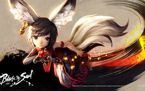 Picture anime, squirrel, blade and soul, blade & soul