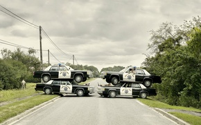Picture cars, Cops, ambush
