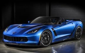Picture corvette, chevrolet, convertible, z06