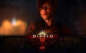 Picture look, face, Girl, Diablo