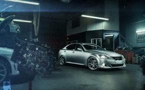 Picture Lexus, workshop, silvery, IS 250, unit