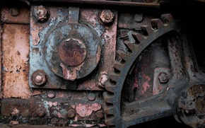 Picture industrial, rust, oxidation, inevitability