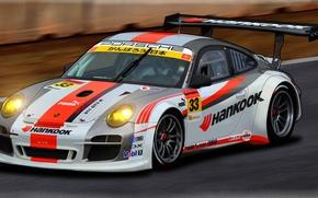 Picture machine, Porsche, art, GT3 R, dangeruss, Super GT