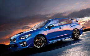 Wallpaper JP-spec, STI, WRX, 2014, Subaru, Subaru