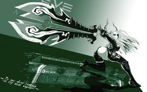 Picture lol, blade, League of legends, Irelia