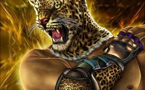 Wallpaper head, cat, tekken, art, warrior, mouth, fur, Zahid Raza Khan