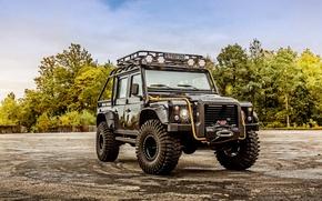 Picture Land Rover, defender, land Rover, Defender 110