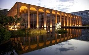 Picture Brazil, Brasil, Itamaraty Palace, Brasilia