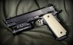 Picture weapons, semi-automatic, Kimber, gun