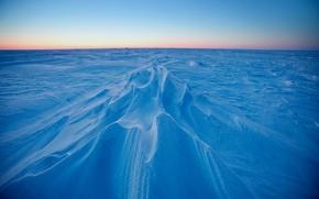 Wallpaper snow, white, silence