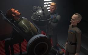 Picture animated series, Star wars: Rebels, Kanan Jarrus, Star Wars: Rebels, Grand Moff Tarkin, agent Callus, …