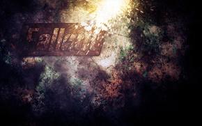Wallpaper dirty, metal, corrosion, fallout, iron, background, logo