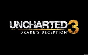 Picture black, back, Uncharted