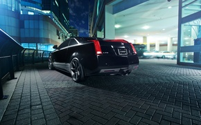 Picture black, Cadillac, black, CTS-V, Cadillac