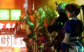 Wallpaper tekken, Metal Gear Rising: Revengeance, raiden, soul calibur, Sub-Zero, cyborg ninja, gray fox, scorpion, yoshimitsu, ...
